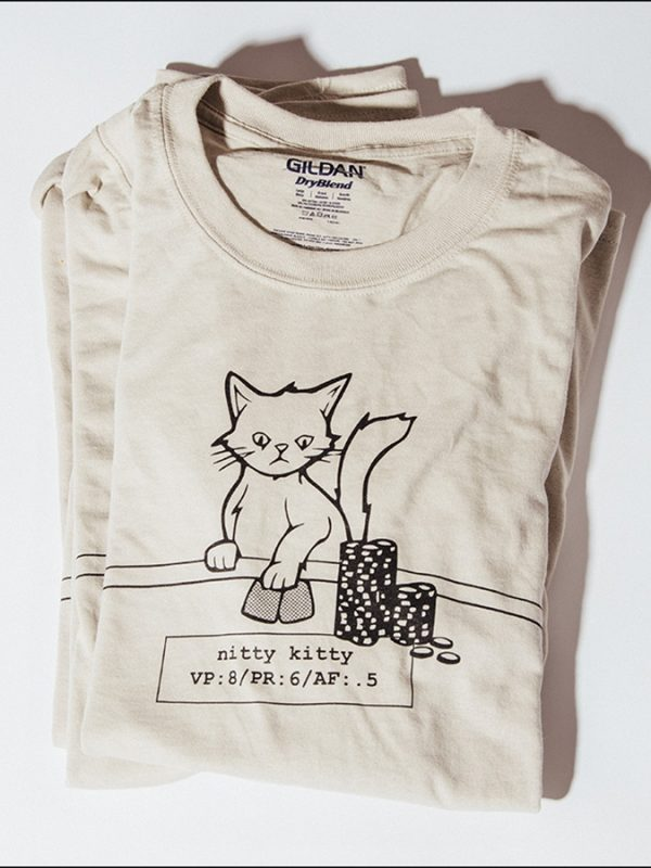 Nitty Kitty Poker T-Shirt