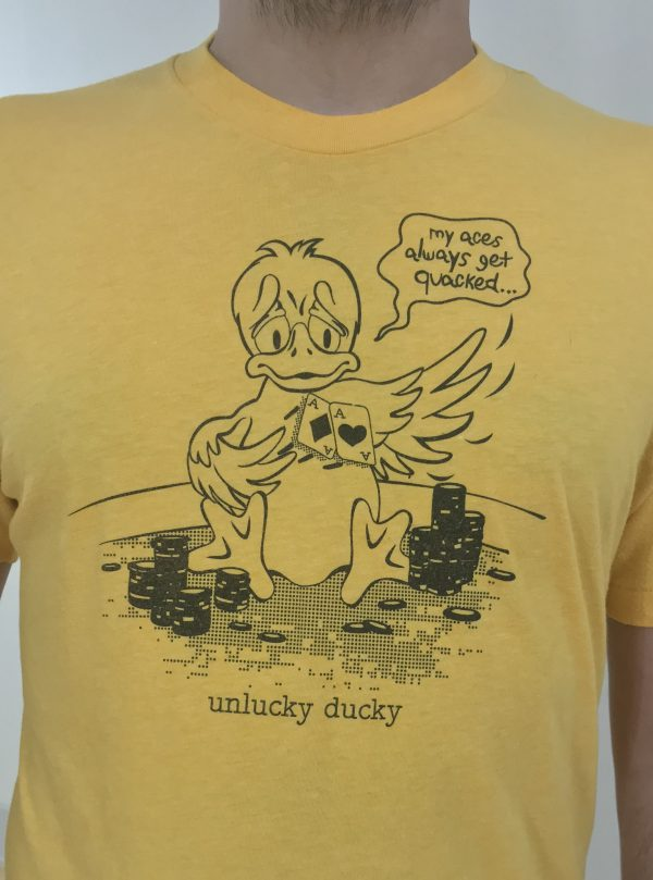 Unlucky Ducky Poker T-Shirt